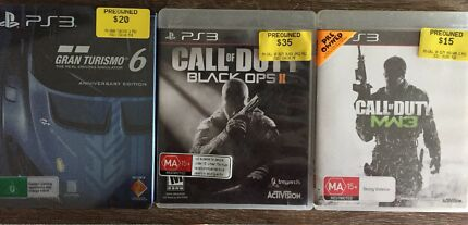 Gran turismo 6 and call of dutys sale PS3 Maroubra Eastern Suburbs Preview