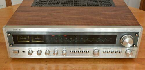 Onkyo TX-8500 Stereo Receiver - Genuine Walnut Custom Veneer - Beautiful!!