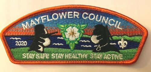 """Mayflower Council CSP ... """"Stay Safe ... Stay Healthy ... Stay Active""""  (SA-18)"""
