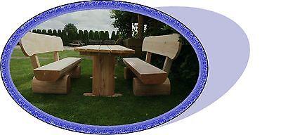Gartenmöbel.Terrassenmöbel..Rustikale Hofmöbel..Holzmöbel.Sitzmöbel.
