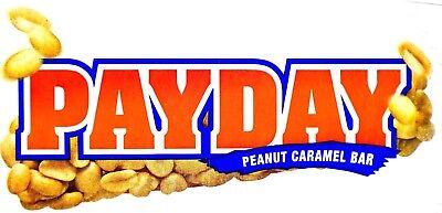 PayDay Peanut Caramel Candy Snack Bar Gluten-Free, 1.85 Ounce Bars
