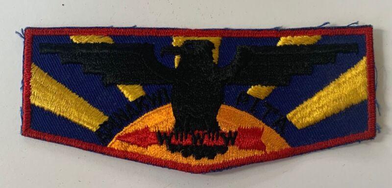 Boy Scout Oa Lodge 277 Apinakwi Pita f-1 (1-33)