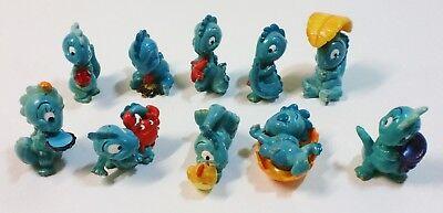Die Drolly Dinos 1993 Ü Ei Figuren characters Figurensatz Überraschungsei