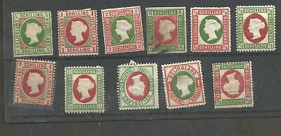 FF 10] Heligoland 11 mint and used stamp