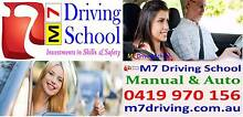 M7 Driving School (Auto & Manual) Accredited Instructor Blacktown Blacktown Area Preview
