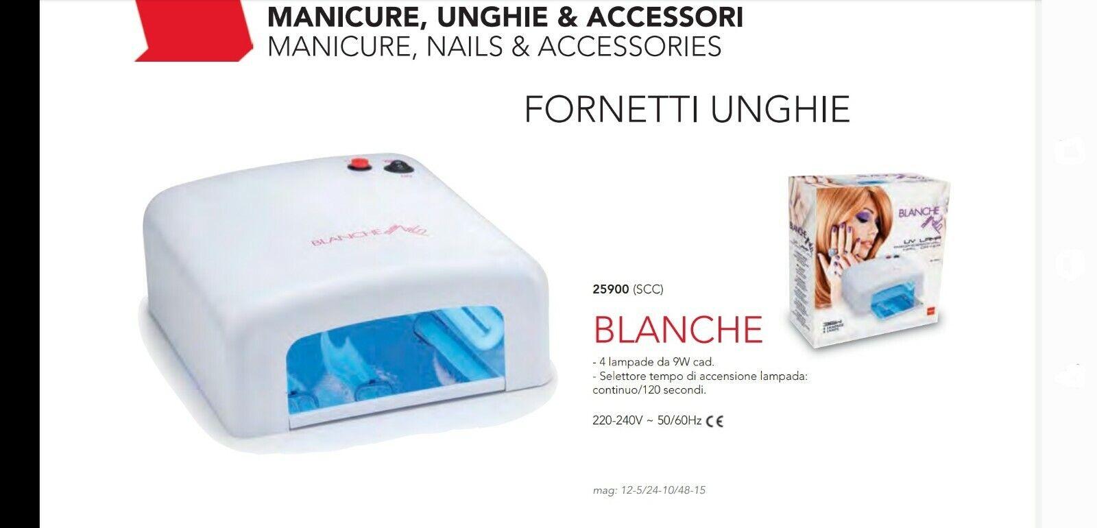 "Müster "" Blanche ""Lichthärtungsgerät UV Lamp Nageltrockner für Maniküre Kosmetik"