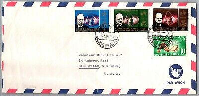 GP GOLDPATH: NEW HEBRIDES COVER 1966 AIR MAIL _CV674_P14