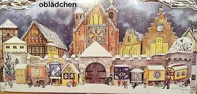 # SELLMER Adventskalender # Nr. 930, Domplatz von 1947, 2 Ebenen, mit GLIMMER