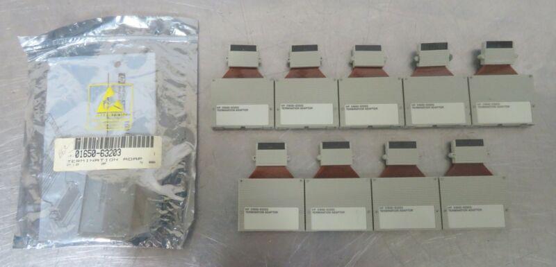 C177982 Lot 10 HP 01650-63203 100kOhm Logic Analyzer Termination Adapter