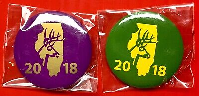 Bow /& Shotgun 2019 Illinois Deer Harvest Pins