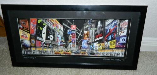 "STUDIO 500 Broadway Musicals ""Now Showing #3"" 3D Paper Cut Art Shadowbox Picture"