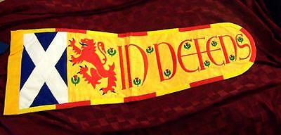 Royal Scottish Scotland Kingdom Tudor King Clan Family Arms Banner Flag Pennant