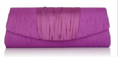 New Jacques Vert Iris Range Purple Occasion/Evening Clutch Bag ~ RRP £65