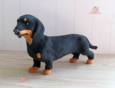 (Dachshund Dog Pet Miniature Plush Stuffed Animal Car Learning Resources Ornament)