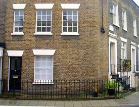 Charming 1 bed Victorian house in Conservation Area Square and within sound of Big Ben