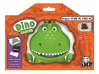 BRAND NEW NINTENDO DINO T=-REX ANIMAL CASE- HOLDS CONSOLE & 3 GAMES