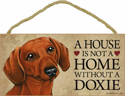 Used, A house is not a home without a Doxie Wood Dachshund Dog Sign Plaque Made in USA for sale  Cape Coral