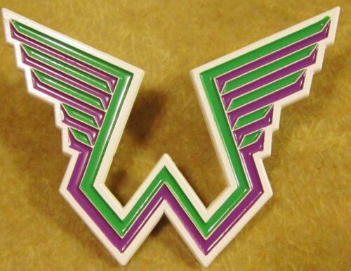 Paul McCartney WINGS METAL PIN Green Logo Beatles Band Rare