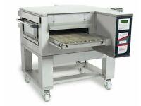 "Zanolli 08/50V (Gas & Electric) Conveyor Pizza Oven 20"" Inch"