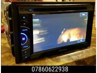 Pioneer AVH-X3500DAB In Car Double Din CD DVD Player - sony alpine kenwood bmw audi stereo -