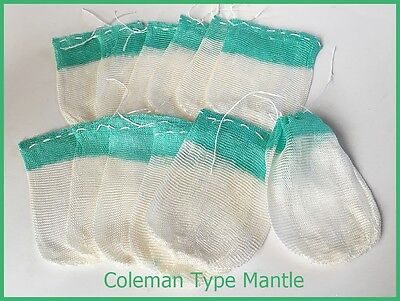 12 PCS COLEMAN TYPE MANTLE 200~500CP STORM LAMPS