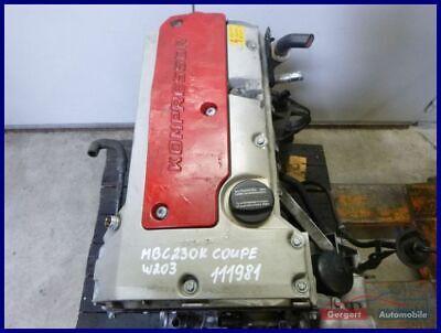 Motor ohne Anbauteile 111.981 MERCEDES-BENZ  C-KLASSE COUPE (CL203) C 230
