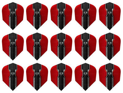 3 per set BLACK VELOS HARROWS Dart Flights