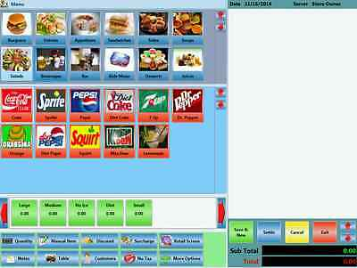 Restaurant Fast Food Retail POS Software point of sale CoffeeShop Bakery ZeusPOS