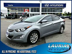 2015 Hyundai Elantra Sport Appearance - Sunroof / Bluetooth