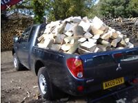 Barn stored logs very dry £60 large truck load
