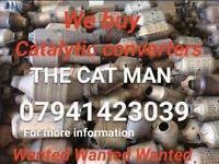 We buy catalytic converters