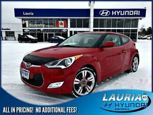 2013 Hyundai Veloster Tech Manual - 1 owner - Navigation / Panor