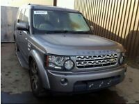 LAND ROVER DISCOVERY 4 2012 AUTOMATIC 3.0 FOR BREAKING