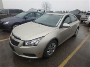 2014 Chevrolet Cruze CARPROOF CLEAN/ LEATHER/ HEATED SEATS/FWD