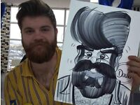 Wedding Caricature Entertainment Caricaturist alternative 2 Magician Photobooth for any party event