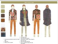 freelance fashion designer and pattern cutter