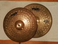 "Vintage Paiste 200 Hi-Hat 14"" Serial Numbers 211771 - Made In West Germany Rare Drum"