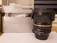 Tamron 24-70mm f/2.8 vc with box (NIKON fit)