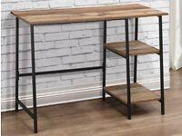 Birlea Urban Rustic Study Desk (Flat Packed)