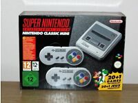 Brand New Super Nintendo SNES Classic Mini Console