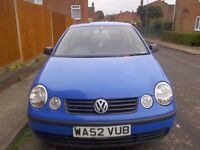 volkswagen polo £350 or offers try me i need the space
