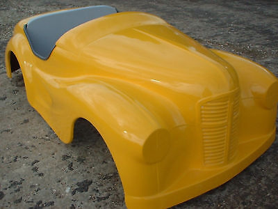 AUSTIN J40 PEDAL CAR HOT ROD TOT ROD BODY SHELL IN GRP