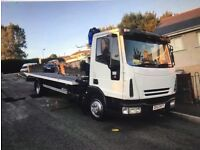 Vehicle Recovery Breakdown Moving Large Items Collection or Delivery