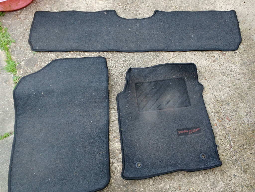 Floor mats xsara picasso - Genuine Citroen Xsara Picasso Car Mats 2 X Front 1 X Rear Car Mat