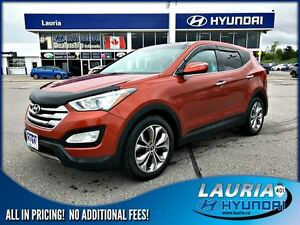 2013 Hyundai Santa Fe Sport 2.0T AWD Limited - Leather / Navigat