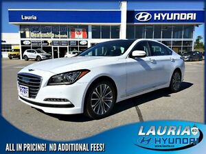 2015 Hyundai Genesis 3.8L AWD Tech Pkg - 1 owner / Navigation /