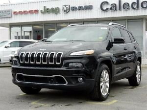 2015 Jeep Cherokee New Limited-Big Roof-Luxury Pkg-Tech Pkg-Safe