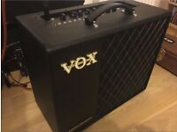 For sale...Vox Valvetronix VT40X guitar amp. ONLY £120. As new. Only 4 months old