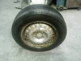 Ford transit connect spare wheel 195/65r15