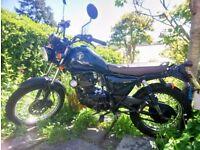 *Sinnis Trackstar 125cc* Amazing, Light, Easy to handle!